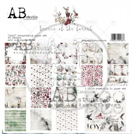 AB - Colección Breeze on the forest - Kit 30x30