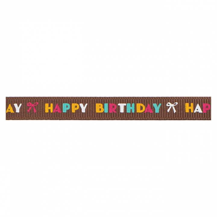 AC - Cinta Brown multi happy birthday