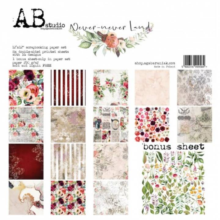 AB - Colección Never Never Land - Kit 30x30