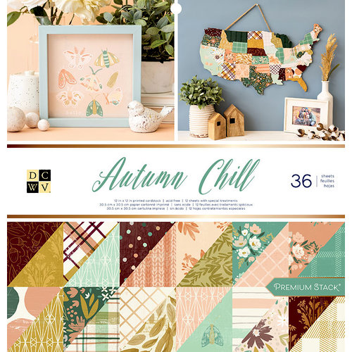 DCWV - Block Autum Chill 30x30