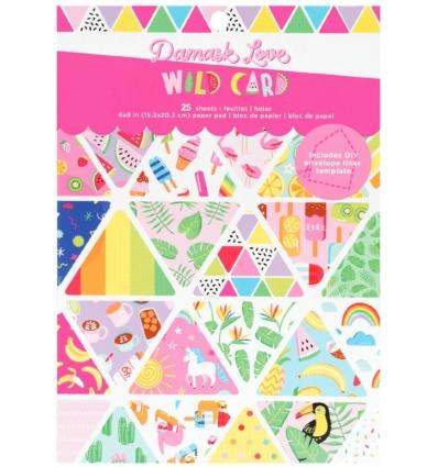 AC - Damask Love Colección Wild Card block 15x20