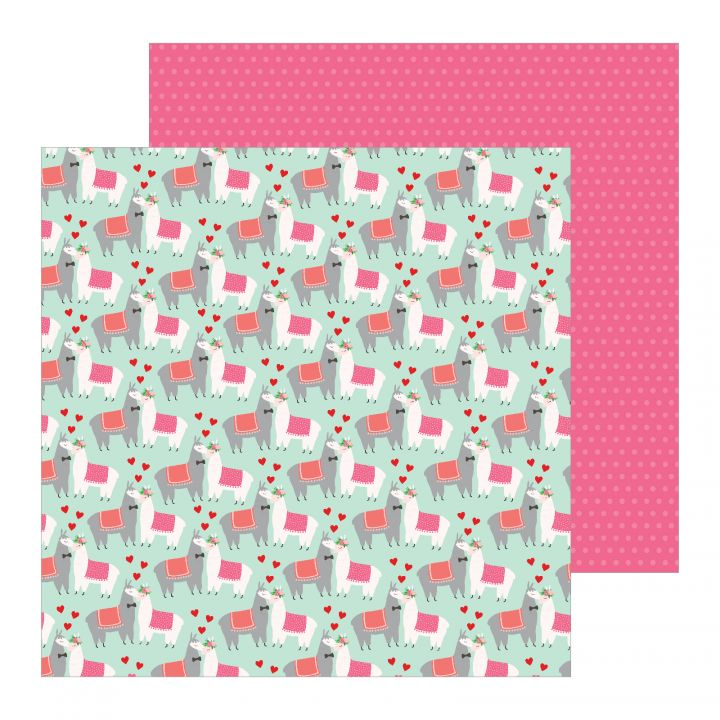 PB -  Colección Loves Me -  Paper Llama Love 12x12