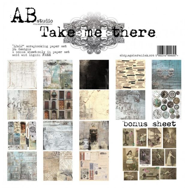 AB - Colección Take me there - Kit 30x30