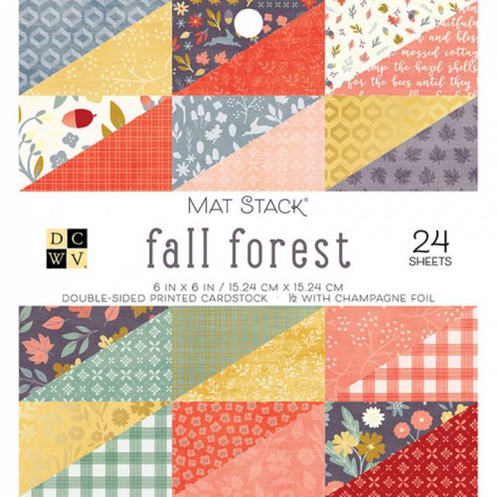 DCWV - Block Fall Forest 6x6