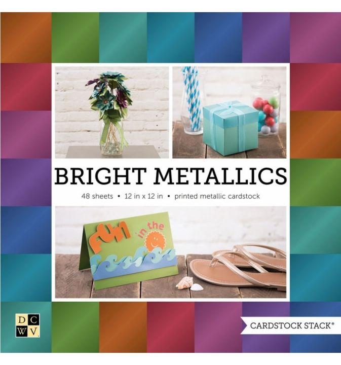 DCWV- Block Brights metallic 30x30