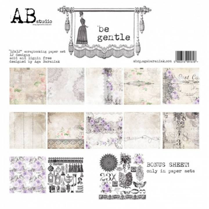 AB - Colección Be gentle - Kit 30x30