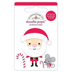 DOO - Colección Christmas town - chipboard Sweet Santa