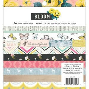CP MH BLOOM 6x6 Paper Pad