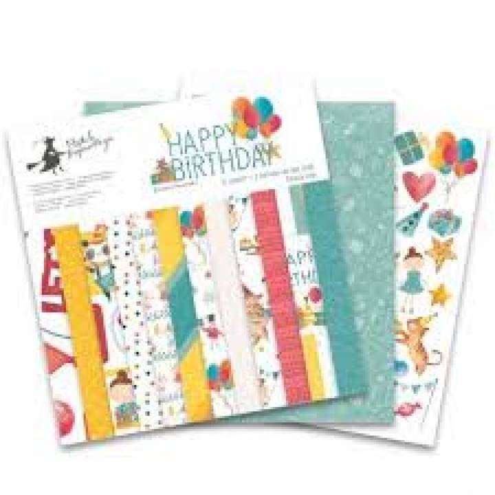 P13 - Colección Happy Birthday - Kit 30x30