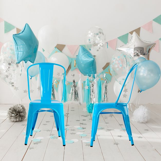 Silla Vintage Azul