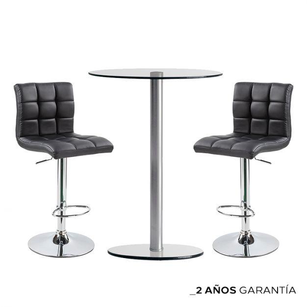 1 Mesa Barra SIMPLEX DA60 1LY /90 + 2 Bancos Barcelo