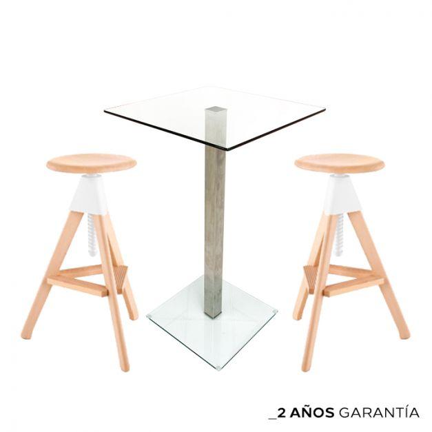1 Mesa Simplex CA60/ 100 1LYO  + 2 Bancos Tornik
