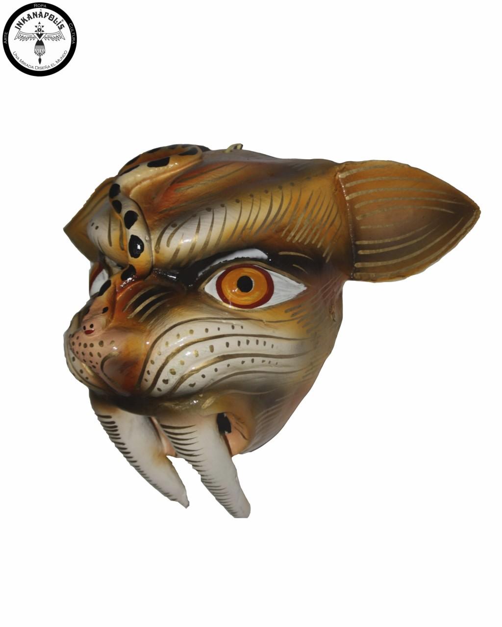 mascara de puma
