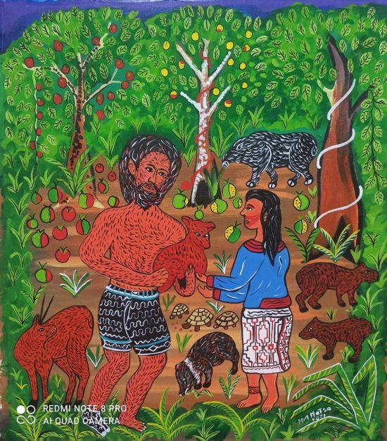 Chullachaqui y la mujer shipiba