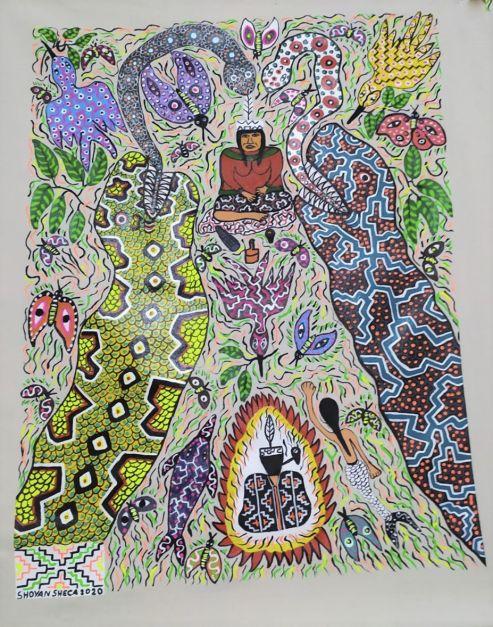La mujer shamana