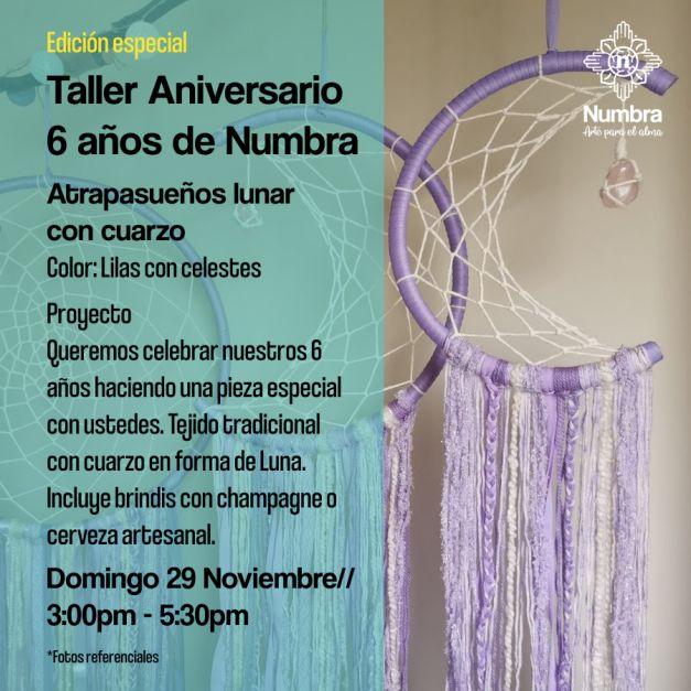 29/11// Taller Aniversario 6 años Numbra  (LU)