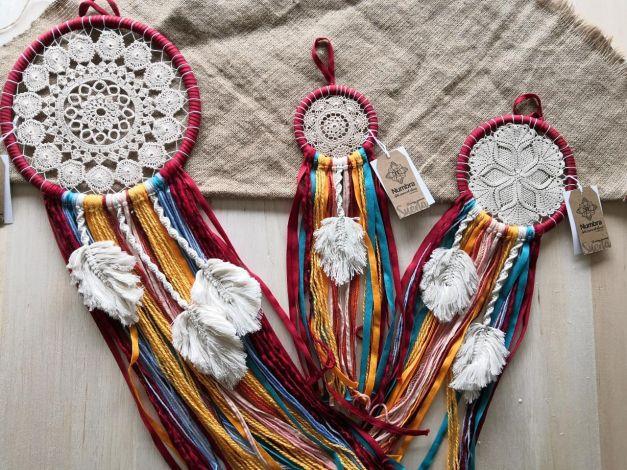 Sandra Crochet Hoja Macramé