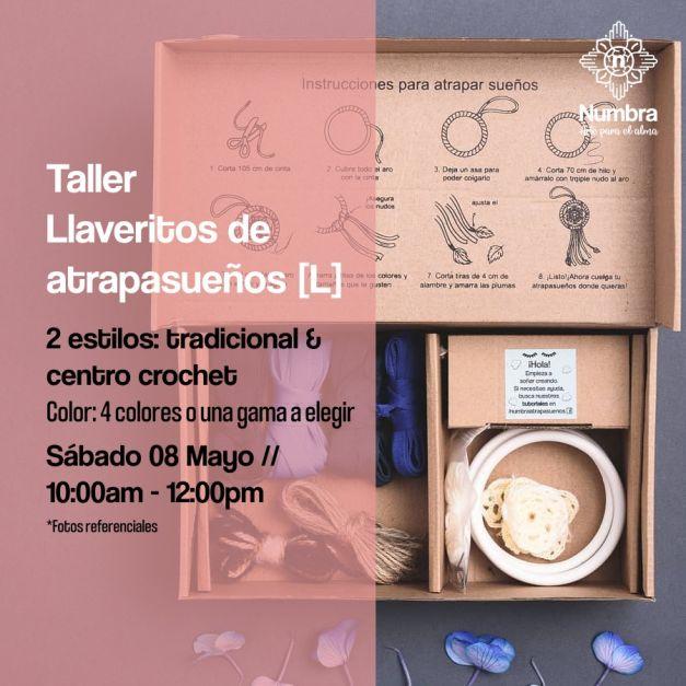 08/05/21 Taller Llaveritos de atrapasueños (L)