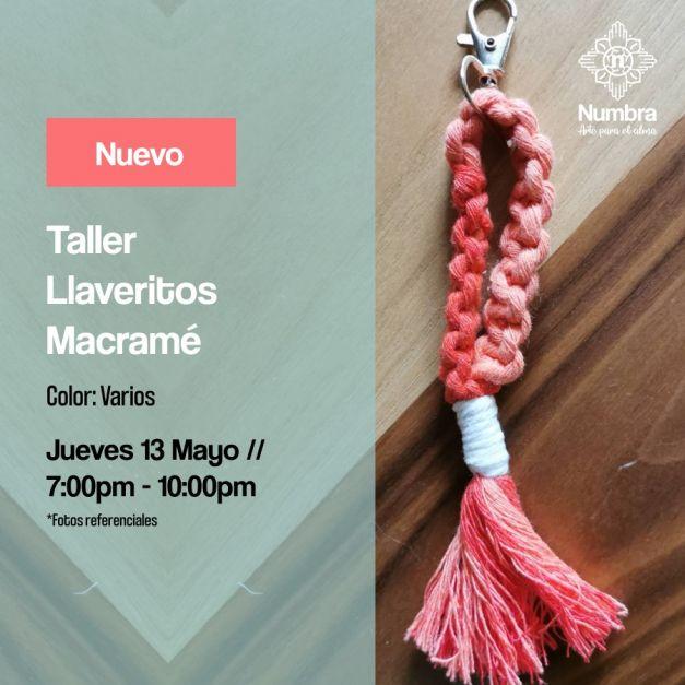 13/05/21 Taller Llaveritos Macramé