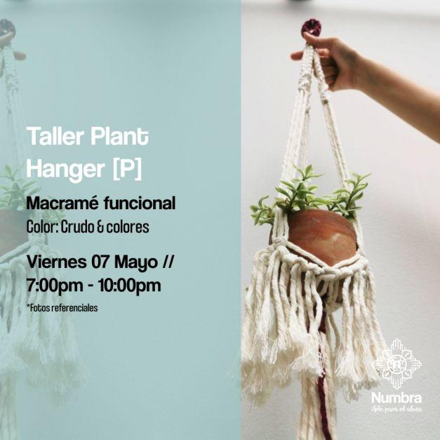 07/05/21 Taller Macramé Plant Hanger (P)