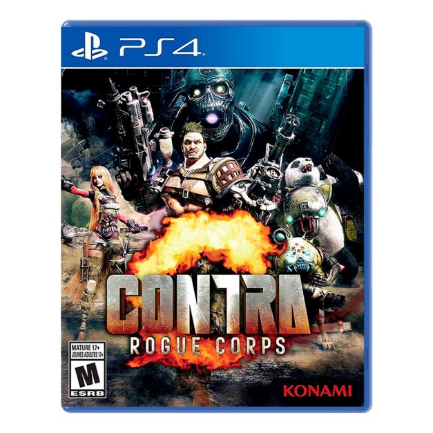 Contra: Rogue Corps - PS4