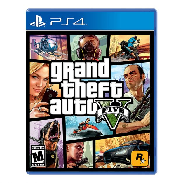 Grand Theft Auto V Premium Online Edition - GTA V - PS4