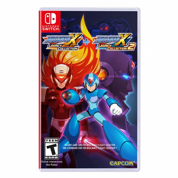Mega Man X Legacy Collection 1+2 - Nintendo Switch