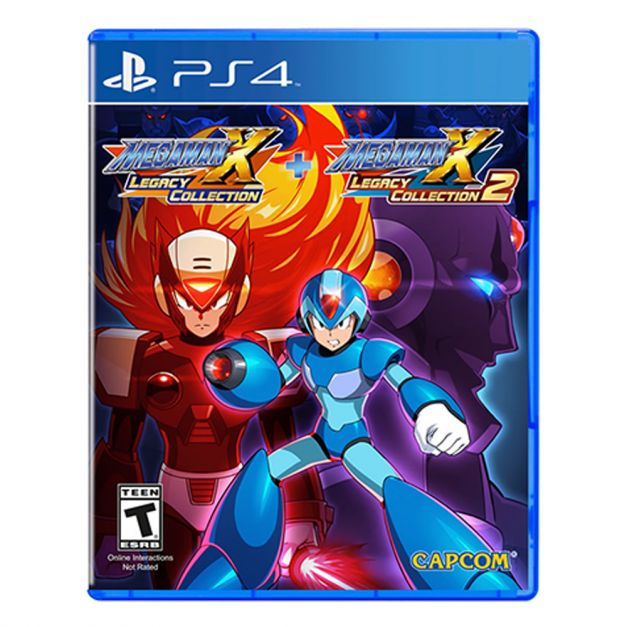 MegaMan X Legacy Collection 1+2 - PS4
