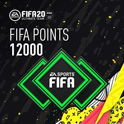 12000 FIFA Points - CODIGO DE ACTIVACION