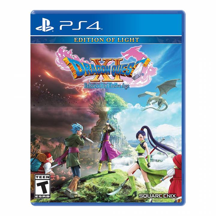 Dragon Quest XI Echoes of an Elusive Age: Edition of Light - PS4