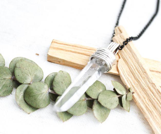 Collar Equilibrio - Cuarzo Cristal