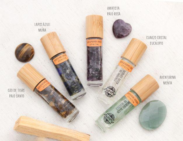 Kid Aromaterapia - Aceites Esenciales con Piedras naturales
