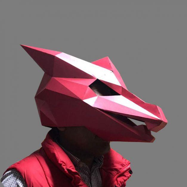 Máscara Dragón Rojo