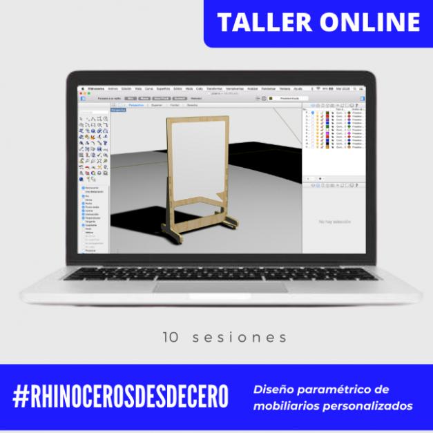Taller Online Rhinoceros Desde Cero