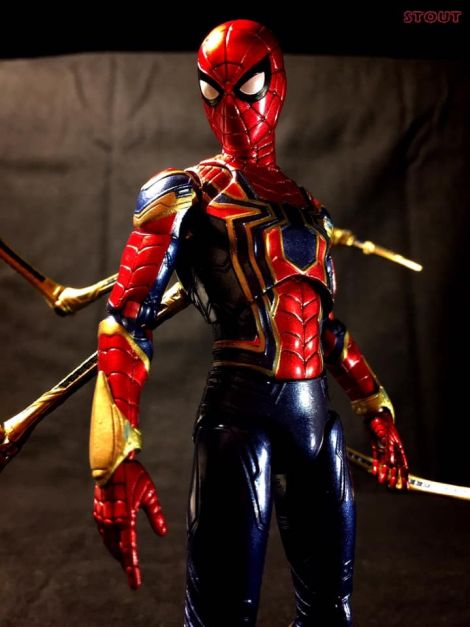 (0) IRON SPIDER METALIC COLOR Vr.