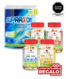 6 SUPRAXOM (900gr) + Regalo Pack Vitamina Kids