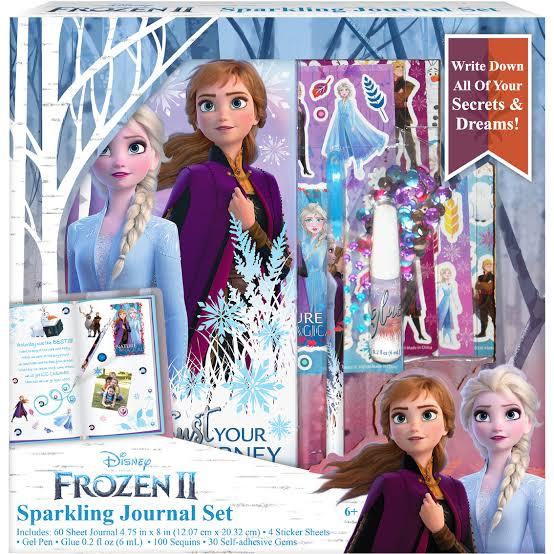 Set Diario Frozen