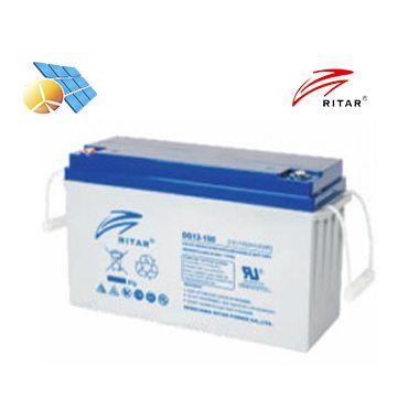 Batería Ritar 12v 150Ah DG GEL Libre Mantenimiento