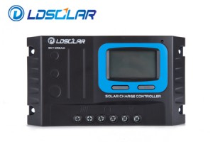 Controlador PWM LDSOLAR 20A 12/24V LCD
