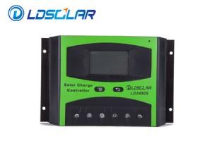Controlador PWM LDSOLAR 30A 12/24V LCD