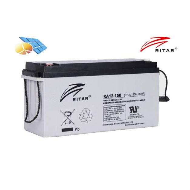 Batería Ritar 12v 150Ah RA AGM Libre Mantenimiento
