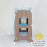 Bañera Cambiador de la Marca Little Bru Azul M3