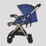 Exhibición - Coche Para Bebé Marca Little Bru Modelo Mallorca Azul