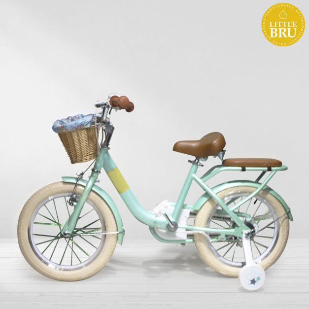 Bicicleta Aro 16 Vintage Modelo Noah Verde