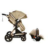 Pre venta-Coche para bebé  Modelo Zaragoza 3 en 1 color caqui