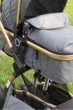 Coche para bebé Modelo Zaragoza 2 en 1 color Gris Little Bru