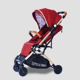 Coche para bebé Marca Little Bru Modelo Skyline ( Rojo )