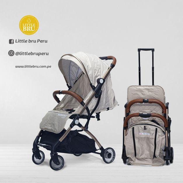 Coche para bebé Avión marca BEIMENS BEIGE