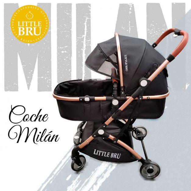 Preventa: Coche para bebé  Milán Negro
