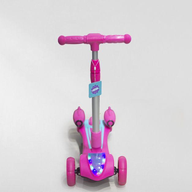 Scooter premier Bluetooth, Luces y Spray  Rosado (Hasta 50kg)